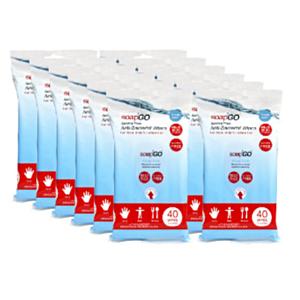 Antibacterial Wipes | Soap2Go | 48 units