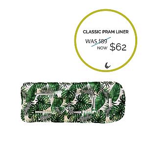 Bella and Moo Pram Liner - Panama - Sale