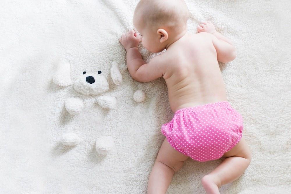 Baby on Tummy
